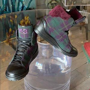 Y-3 Yohji Yamamoto High Top Chukkas/Sneakers 10.5D